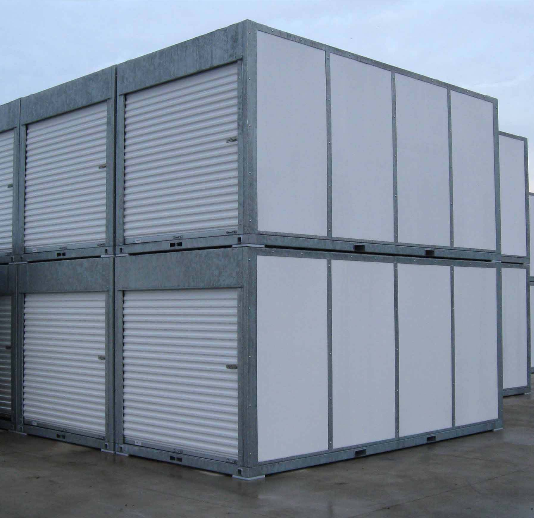 Portable Storage Units & Portable Storage Units Decks: Storage Bodies Roll-Off Truck Bodies